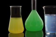 Chemical retorts Royalty Free Stock Photos