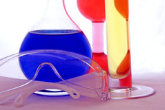 Chemical safety goggles royalty free stock photos