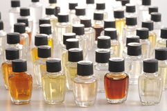 Chemical samples Royalty Free Stock Photos
