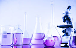 Chemical, Science, Laboratory Equipment Stock Image