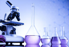 Chemical, Science, Laboratory Equipment Stock Photo