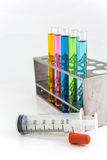 Chemical, Science, Laboratory, Test Tube, Laboratory Equipment Stock Image