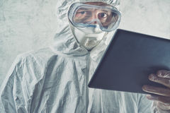 Chemical Scientist Using Digital Tablet Computer Stock Images