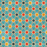 Chemical seamless pattern Royalty Free Stock Photos