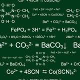 chemical seamless wallpaper Royaltyfri Bild