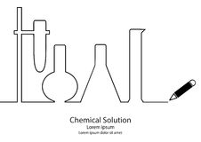 Chemical Solution Stock Photography