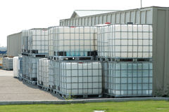 Chemical Storage Royalty Free Stock Images