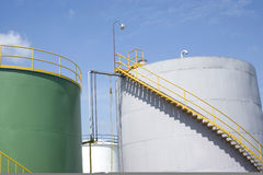 Chemical Storage Tank Royalty Free Stock Photo