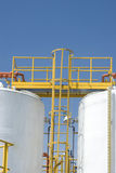 Chemical Storage Tank Royalty Free Stock Image
