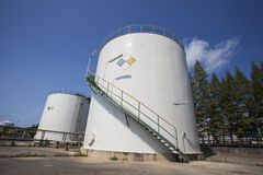 Chemical Storage Royalty Free Stock Photo