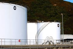 Chemical Storage tanks Stock Images