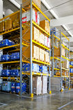 Chemical storehouse Royalty Free Stock Photos