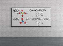 Chemical structure Stock Image