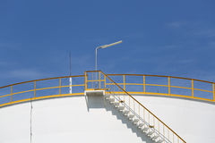 Chemical tank container Stock Images