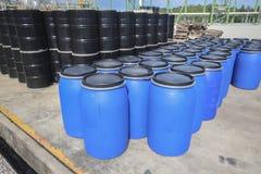 Chemical tank storage Royalty Free Stock Image