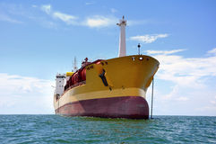 Chemical tanker Royalty Free Stock Photos
