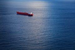 Chemical Tanker in the Atlantic Ocean Royalty Free Stock Images