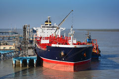 Chemical tanker Royalty Free Stock Image
