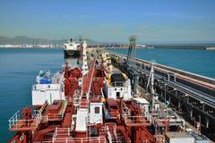 Chemical tanker Stock Photo