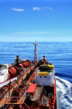 chemical tanker at sea Royalty Free Stock Photos