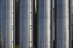 Chemical tanks Stock Photos
