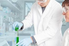 Chemical teaching Stock Images