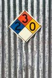 chemical tecken Royaltyfri Foto
