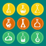 Chemical test tube Royalty Free Stock Image