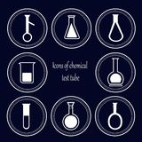 Chemical test tube Royalty Free Stock Photo