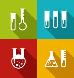 Chemical Test Tubes Royalty Free Stock Photos
