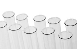 Chemical test tubes Royalty Free Stock Photo