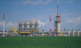 Chemical tillverkning. Arkivbild