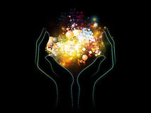 Chemical Universe Royalty Free Stock Images