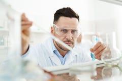 Chemical utredning Arkivfoton