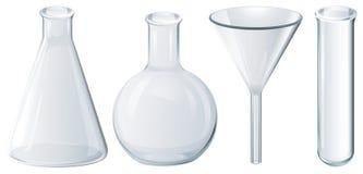 chemical utrustning stock illustrationer