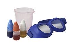 chemical utrustning arkivfoton