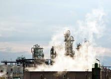 chemical växt Arkivfoto