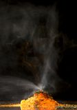 Chemical volcano Stock Photo