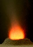 Chemical volcano Royalty Free Stock Image