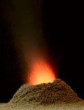 chemical vulkan Arkivbilder