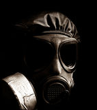 Chemical warfare Royalty Free Stock Photo