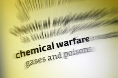 Chemical Warfare Royalty Free Stock Photos