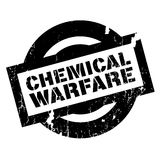 Chemical Warfare rubber stamp Royalty Free Stock Photo