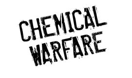 Chemical Warfare rubber stamp Royalty Free Stock Photos