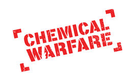 Chemical Warfare rubber stamp Stock Photo