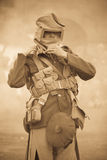 Chemical warfare in World War 1 Stock Photography