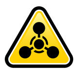 Chemical Weapon sign Royalty Free Stock Image