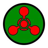 Chemical Weapon Symbol Stock Image