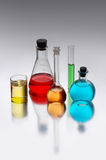 Chemicals stock photography
