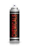 Chemicals concept. Royalty Free Stock Image